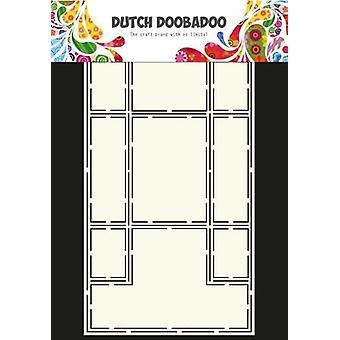 الهولندية Doobadoo الهولندية بطاقة الفن ستينسيل ثلاثي الولد A4 470.713.316
