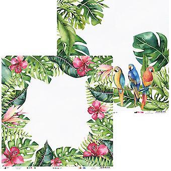 Piatek13 - Paper Let's flamingle 02 P13-271 12x12