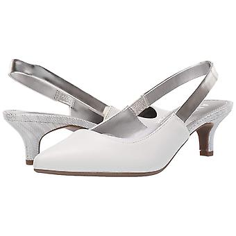 Anne Klein Womens Aileen Leather Pointed Toe SlingBack Classic Pumps