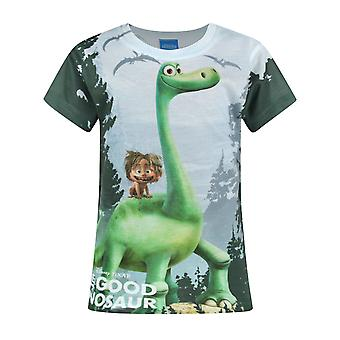 The Good Dinosaur Arlo och Spot Sublimation Girl & apos; s kort ärm T-shirt