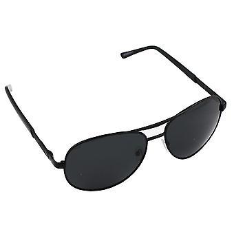 Men's Sunglasses and Sunglasses Women's Polaroid Pilot - Black with free brillenkokerS303_4