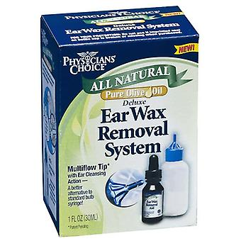 Physician's choice all natural deluxe ear wax removal system, 1 oz