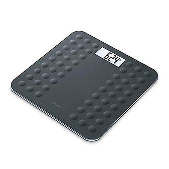 Cyfrowe wagi łazienkowe Beurer GS 300 LCD (30 x 30 cm) Czarny