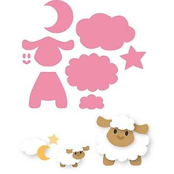 Marianne Design Collectables Cutting Dies - Eline's Sheep Col1385