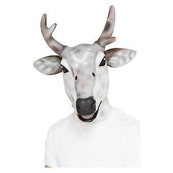 Rentiere/Hirsch Latex Maske