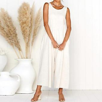 Long Wide Leg Strappy Jumpsuit