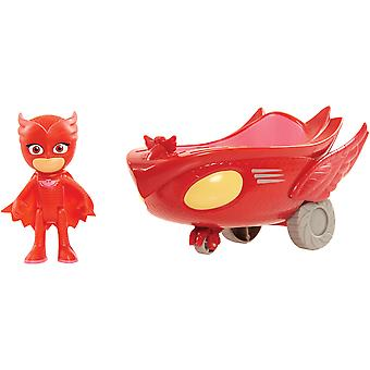 PJ Masks the Pyjama Heroes vehicle + figure, Ugglis Uggleglidare