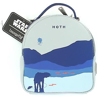 Loungefly Star Wars Hoth Convertible Backpack/crossbody Bag With Coin Purse