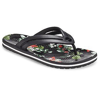 Crocs Kvinders Crocband Floral Letvægts Flip Flops