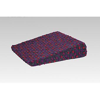 Therapy wedge wedge pillow cushion anthracite-coloured of 40 x 40 x 8/1 cm