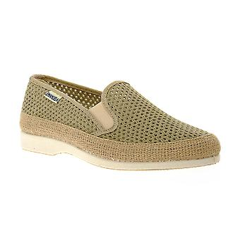 Emanuela tobacco slipper shoes