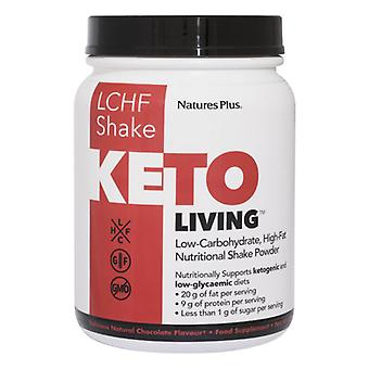 Nature's Plus KetoLiving Chocolate Keto Shake 578g (82007)