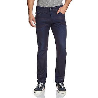G-Star Morris Low Straight Medium Aged Geo Denim Jeans