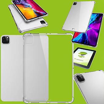 Für Apple iPad Pro 11.0 2020 Transparent Schock Hülle Tablet Tasche Cover + H9 Hart Glas