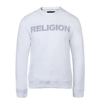 Religion 10prfw 24 Reflect Logo Sweat Top - White
