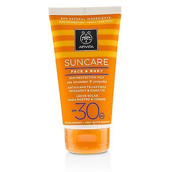 Suncare Face & Body Sun Protection Milk Spf 30 With Sea Lavender & Propolis 150ml/5oz