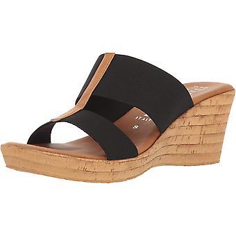 Italian Shoemakers Women's Golden Wedge Sandal