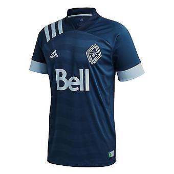 2020-2021 Vancouver Whitecaps Away Adidas Football Shirt