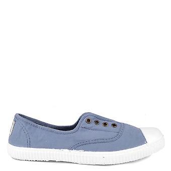 Victoria Shoes Dora Azul Canvas Plimsolls