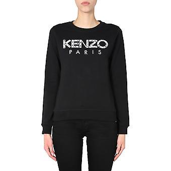 Kenzo Fa52sw70796299 Damen's schwarz Baumwolle Sweatshirt