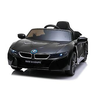 licenced bmw black i8 coupe 12v electric ride on car one seater