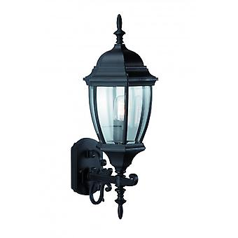Lotta Black Garden Wall Light 1 Bulb