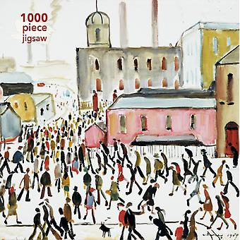 Adult Jigsaw Puzzle L.S. Lowry Going to Work