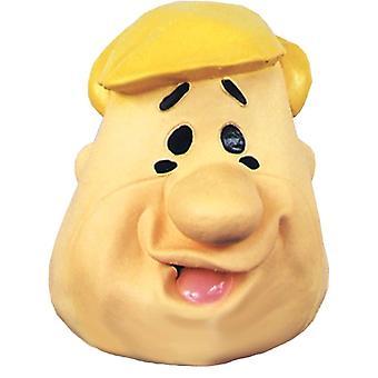 Барни Щебень латексная маска для взрослых