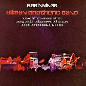 Allman Brothers Band - Beginnings [CD] USA import