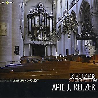 Arie Keijzer - Keijzer: Complete Symphonies II & III [CD] USA import
