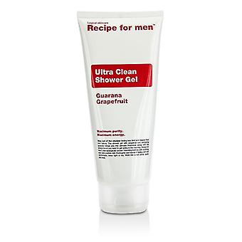 Ricetta per uomini Ultra pulita doccia Gel 200ml/6.7 oz