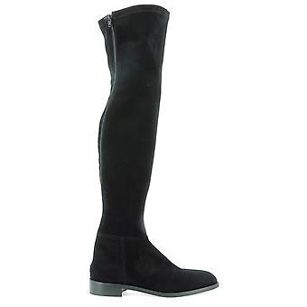 Guglielmo Rotta 3937scamoscionero Women's Black Suede Boots