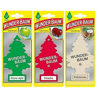 Geurende Wunder-Baum (Apple + Cherry + Coconut) 3-Pack