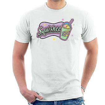 The Simpsons Retro Squishee Logo Men's T-Shirt