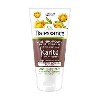 Après-shampooing baume Karité & Kératine végétale 150 ml