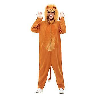 Dospelí Brown Lion Maškarné kostým