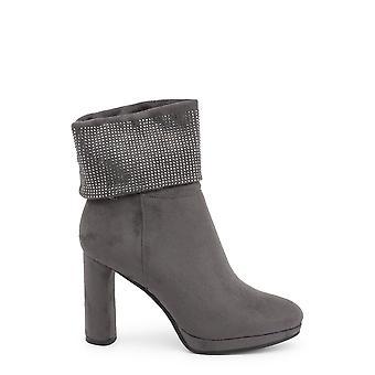 Laura biagiotti 584319 kvinder's rhinestones side zip støvler