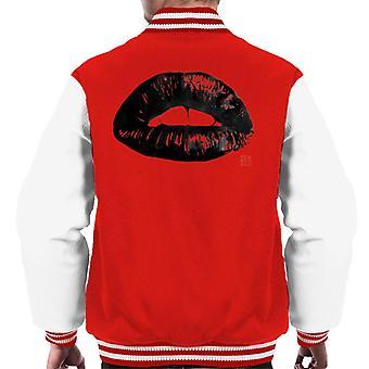 Retro Lips Men's Varsity Jacket