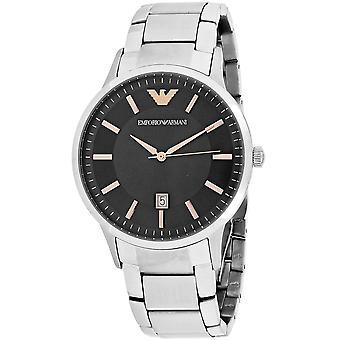 245, Armani Men 's AR2514 Quartz Silver Watch