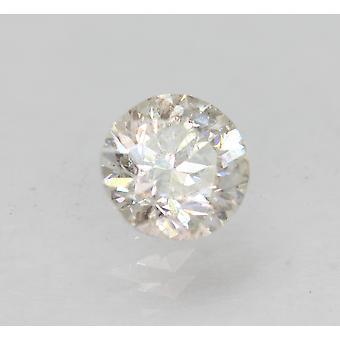 معتمد 0.80 قيراط F SI1 جولة رائعة المحسنة الطبيعية فضفاضة الماس 5.82mm