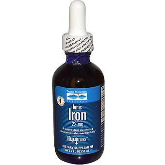 Trace Minerals Research, Ionic Iron, 22 mg, 1.9 fl oz (56 ml)