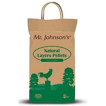 Mr Johnsons természetes rétegek pellet - 5kg