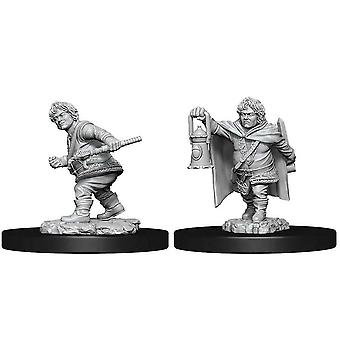 D&D Nolzur's Marvelous Unarented Minis Male Halfling Rogue