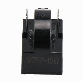 Frigider Compresor PTC Releu Starter 15 Ohm 2 Pini Negru