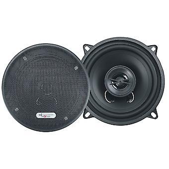 Lautsprecherset Zwei-Wege-Koaxial X132 300 Watt schwarz