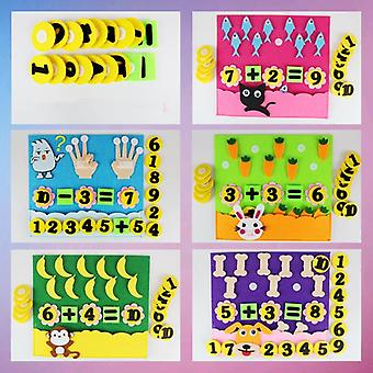Éducation Montessori Teaching Aids Math Puzzle