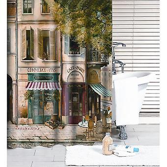 186x185cm Poliéster -moda Reminisced Waterproof Shower Curtain