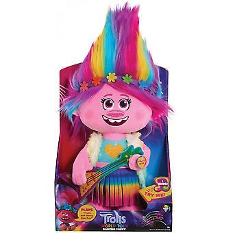 Trolls World Tour Dancing Feature Poppy Plush