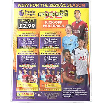 Premier League 2020/21 Adrenalyn XL Kick-Off Multipack