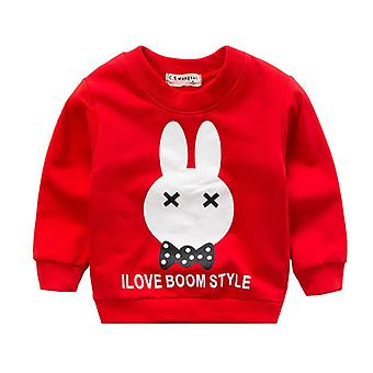 Baby Girls Toddler Sweatshirts  Spring Autumn Long Sleeves Pullovers Kids